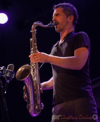 Sylvain Rifflet, Sylvain Rifflet Quartet, Festival JAZZ360 2016, Cénac, 10/06/2016