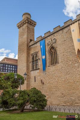 """Palais royal """"le Parador"""", hôtel de luxe, Olite, Navarre / Palacio Real """"el Parador"""", hotel de lujo, Olite, Navarra"""