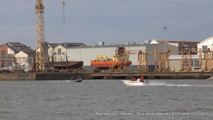 Rive gauche, quai de rénovation navale. Bordeaux, samedi 16 mars 2013