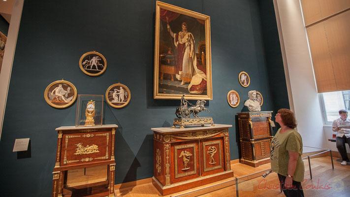 L'Empereur Napoléon Ier en costume de sacre, François Gérard, Salle Finacor, Musée du Louvre