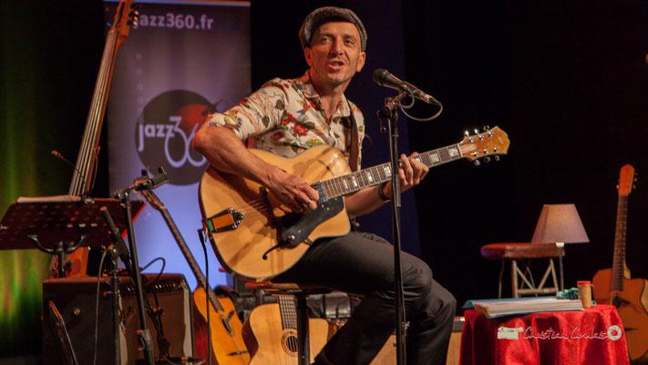 Rix; The Rix'tet, soirée club JAZZ360, Cénac. 05/10/2019