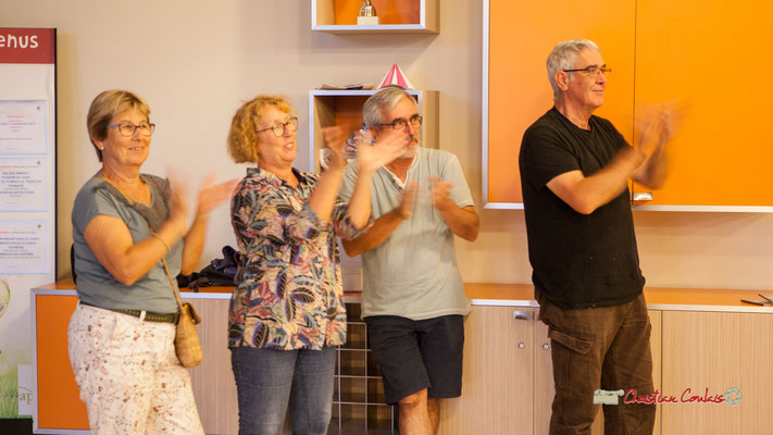Concert de Belzaii. Quelques bénévoles de l'Association JAZZ360, Camblanes-et-Meynac, 14/09/2019