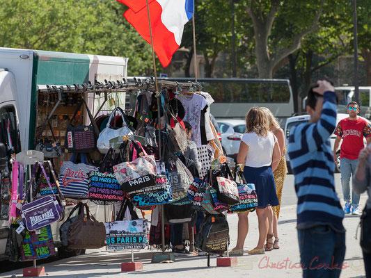 Marchand de souvenirs, Champ de Mars, Paris  7ème
