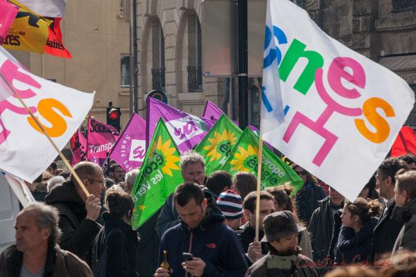 14h46, SNES, Europe Ecologie les Verts, Sud Santé Social, Solidaire Transports...Tous ensemble !