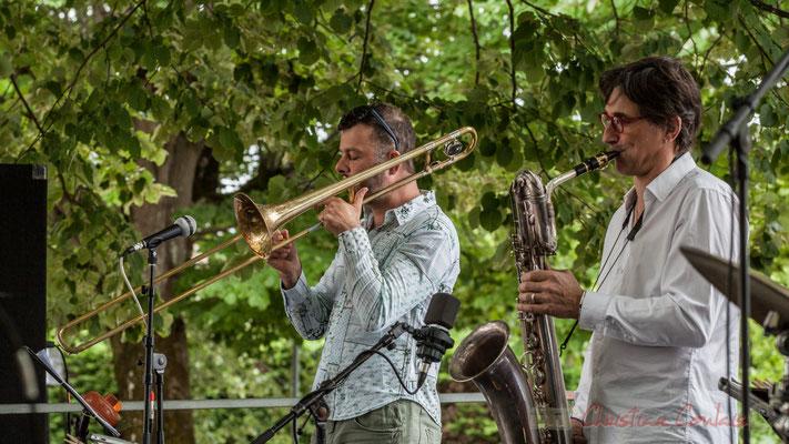 Daniel Zimmermann, Eric Séva Quartet, Festival JAZZ360 2016, Camblanes-et-Meynac