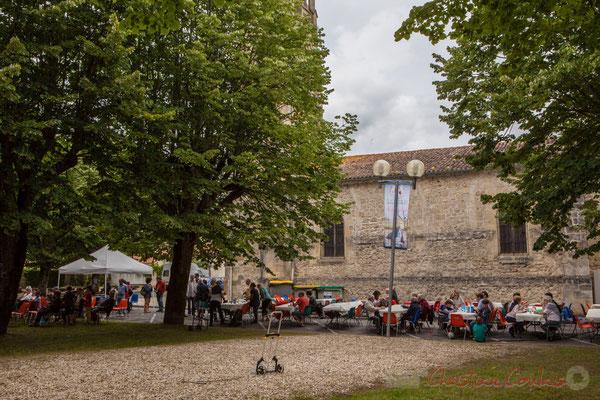 Très bel endroit pour festoyer à Camblanes-et-Meynac. Festival JAZZ360 2016, 11/06/2016
