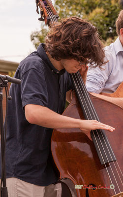 Esteban Bardet; Atelier Jazz du Conservatoire Jacques Thibaud, Festival JAZZ360 2019, Quinsac, 09/06/2019