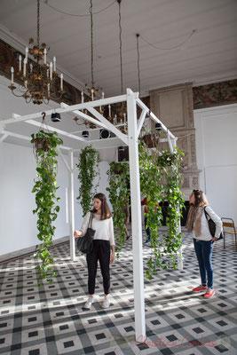 3 Phonofolium. Scenocosme : Grégory Lasserre & Anaïs met den Ancxt. Octobre numérique, Palais de l'Archevêché, Arles