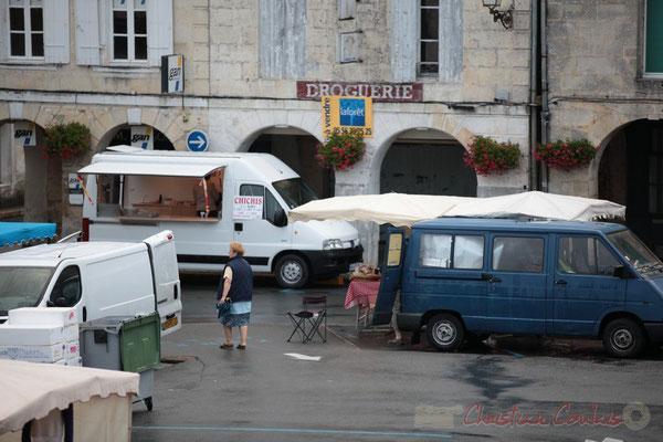 Fabrication maison du chichi, Marché de Créon, Gironde