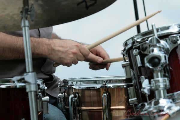 Philippe Bayle Trio; Didier Ottaviani. Festival JAZZ360, Quinsac. 05/06/2011