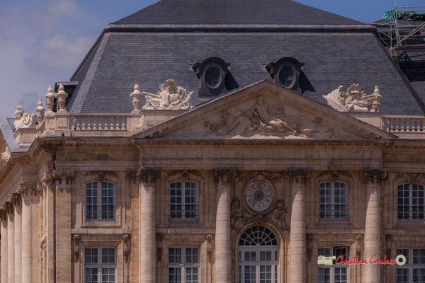 Palais de la Bourse, Bordeaux. 22 juin 2019. Reproduction interdite - Tous droits réservés © Christian Coulais