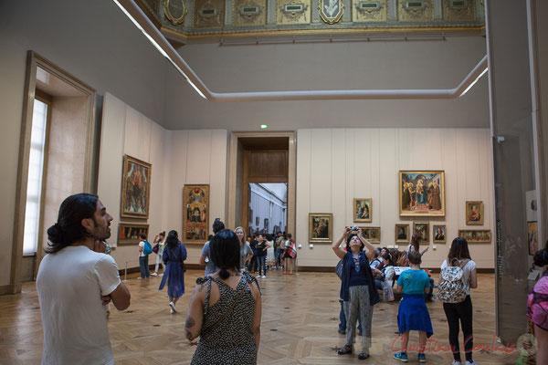 Ecole de la peinture italienne du 12ème au 15me siècle, le Salon carré, Musée du Louvre