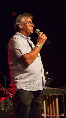 Richard Raducanu, Président de l'association JAZZ360. Festival JAZZ360, Cénac, 10 juin 2017