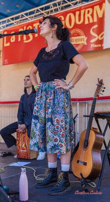 Layla Serrano; Timo Pheievna en concert. Festival Ouvre la voix, Musée du Patrimoine sensible du créonnais, Sadirac, dimanche 5 septembre 2021. Photographie © Christian Coulais