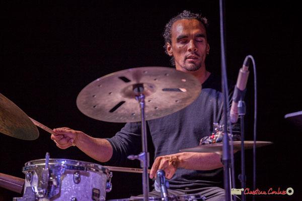 Gaétan Diaz; Mayomi Moreno Project. Festival JAZZ360 2018, Latresne. 10/06/2018