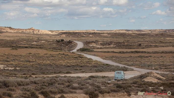 """""""Estafette Renault"""" Parque natural de las Bardenas Reales, Navarra"""