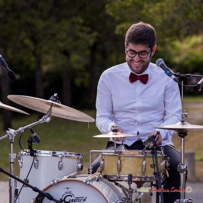 Julien Lavie; Jujubees Swing Combo. Festival JAZZ360, Cénac. 08/06/2019
