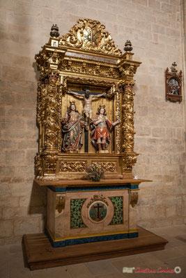 Retable baroque du Sanctuaire-Forteresse de Santa María de Ujué / Retablo barroco del Santuario-Fortaleza de Santa María de Ujué, Navarra