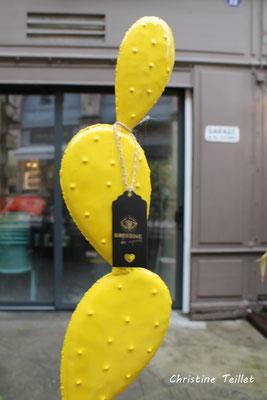 27 nuances de jaune. Bordeaux, samedi 5 décembre 2020. Photographie © Christine Teillet