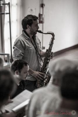 Paul Robert, saxophone et Vincent Vilnet, piano; Les Choraleurs, Carmen in Jazz, Quinsac