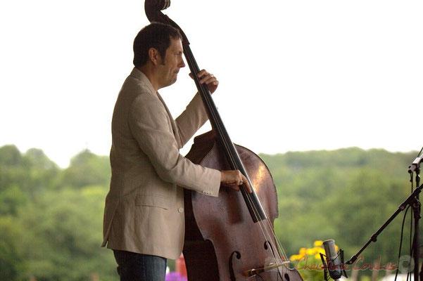 Olivier Gatto; Alex Golino & David Blenkhorn Quartet, Festival JAZZ360 2012, château Roquebrune, Cénac, samedi 9 juin 2012