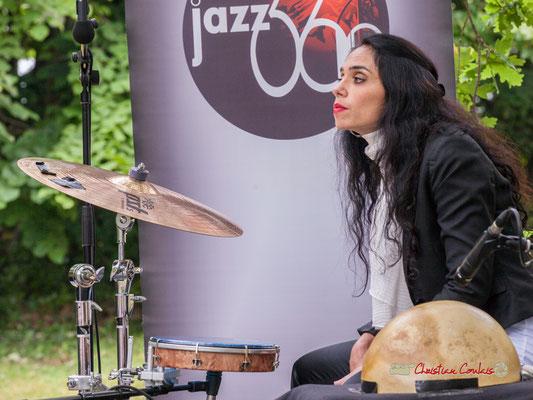 Sabrina Romero; Nicolas Saez Quartet. Festival JAZZ360, Château Duplessy, Cénac. 10/06/2019