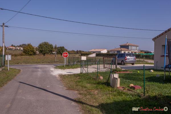 1 Côté est. Allée du Cloutet, Cénac, Gironde. 16/10/2017