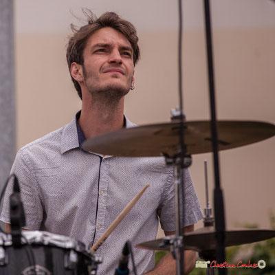 Simon Renault; Shob & Friends. Festival JAZZ360 2018, Quinsac. 10/06/2018
