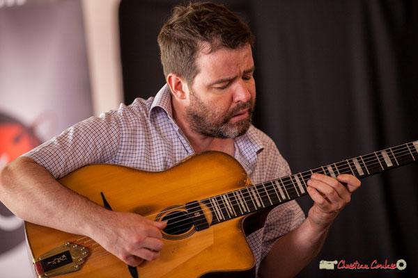 Arnaud Bouquin; Gadjo & Co. Festival JAZZ360 2018, Camblanes-et-Meynac. 09/06/2018