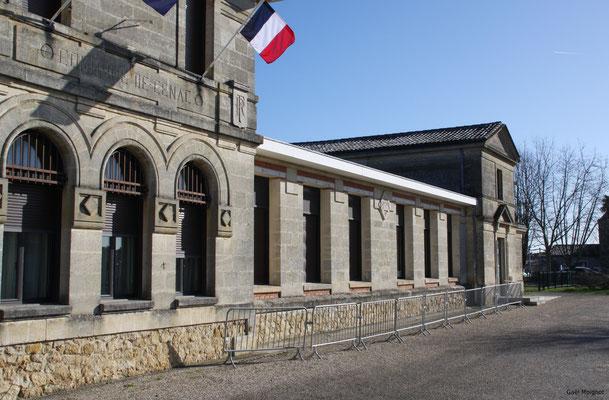 Mairie-Ecole par Gaël Moingnot. Cénac d'aujourd'hui. 10/02/2018