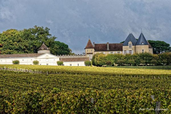 Château d'Yquem, Sauternes. Samedi 10 octobre 2020. Photographie © Jean-Pierre Couthouis