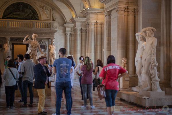 La Salle des Caryatides, Musée du Louvre