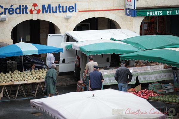 Boulangerie de Biagnos, pains issus de farines de l'Agriculture Biologique. Marché de Créon, Gironde