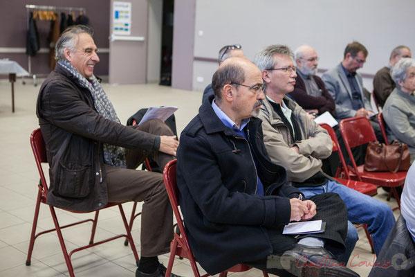 Francis Delcros, Maire de Latresne; Michel Nadaud, Maire de Le Pout