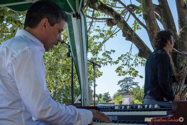 Hervé Saint-Guirons, Jean Vernhères; Soul Jazz Rebels. Festival JAZZ360, 10 juin 2017, Camblanes-et-Meynac