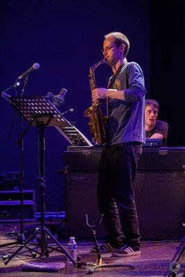 Le Jardin Quartet : Julien Dubois, saxophone / Simon Chivallon, piano. Festival JAZZ360 2016, 10/06/2016
