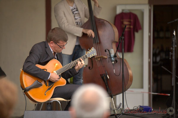 David Blenkhorn; Alex Golino & David Blenkhorn Quartet, Festival JAZZ360 2012, château Roquebrune, Cénac, samedi 9 juin 2012