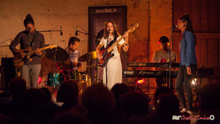 Robin Magord; Laure Sanchez Quintet, JAZZ360 au Domaine de Sentout, Lignan-de-Bordeaux. 08/09/2018