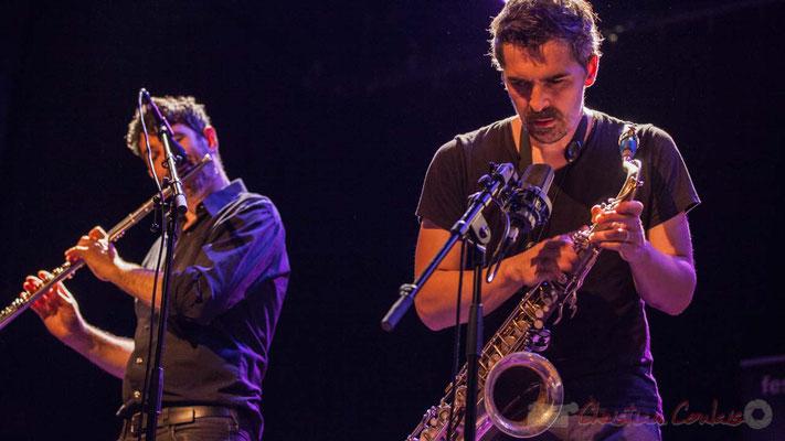 Joce Meinniel, Sylvain Rifflet, Sylvain Rifflet Quartet, Festival JAZZ360 2016, Cénac