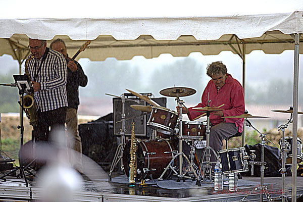 """""""Plic-ploc 2"""", Francis Fontès, Philippe Valentine; Affinity Quartet, Festival JAZZ360 2012, Quinsac, dimanche 10 juin 2012 2012"""