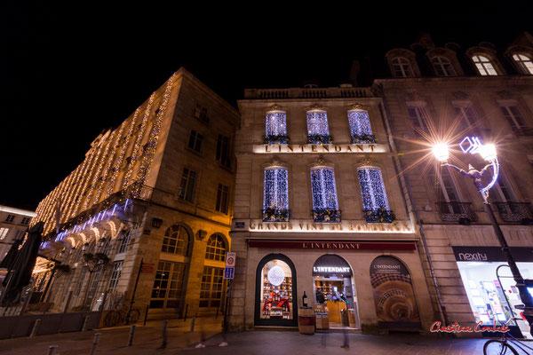 2 allées de Tourny, Bordeaux. Mercredi 16 décembre 2020. Photographie © Christian Coulais