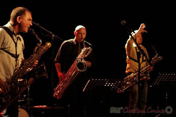 Francis Mounier, Guillaume Schmidt; Fédération Française de Baryton (FFB), Festival JAZZ360 2011, Cénac. 05/06/2011