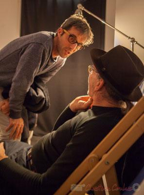 Marathon sonore, l'intégrale de Philippe Cauvin. Le Rocher de Palmer, 12/12/2015. Reproduction interdite - Tous droits réservés © Christian Coulais