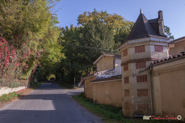 La Musardière, avenue Pierre Larquey, Cénac, Gironde. 16/10/2017