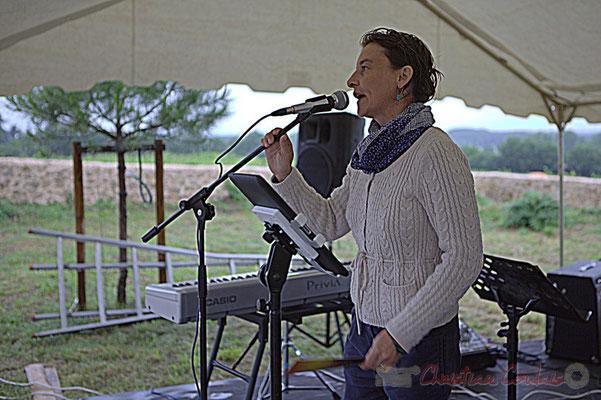 Stéphanie Ventura-Fornos, élue à Quinsac. Affinity Quartet, Festival JAZZ360 2012, dimanche 10 juin 2012