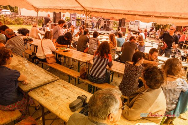 Repas et buvette (vins locaux) sur place. Festival JAZZ360 2019, Quinsac présente The Protolites, scène d'été de la Gironde. 09/06/2019