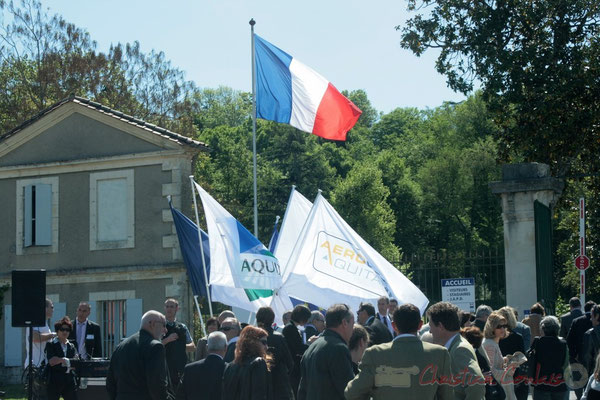 Inauguration de l'Aérocampus Aquitaine, Latresne, le 14 avril 2011