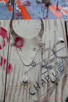 "32 ""Toro camargue"" Street Art, Arles"