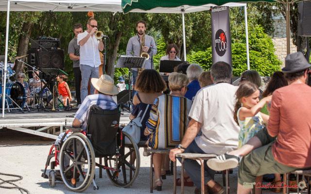 """""""JAZZ360, un festival aux multiples concerts gratuits, accessibles à tous"""" On Lee Way, Quinsac, 11/06/2017"""