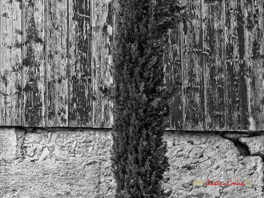 Communs, détail abstrait, Domaine de Malagar. Centre François Mauriac, Saint-Maixant. 28/09/2019 Reproduction interdite - Tous droits réservés © Christian Coulais